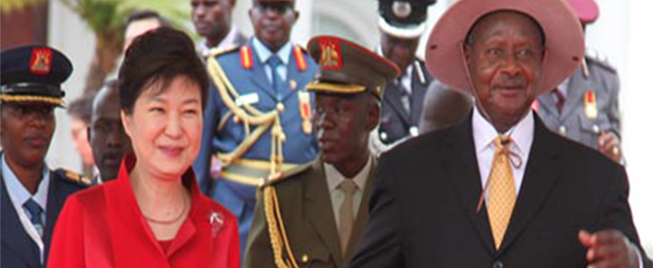 Uganda North Korea