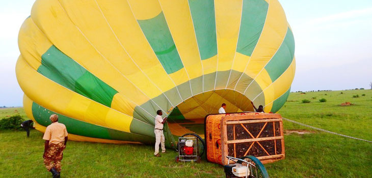 Murchison falls Balloon