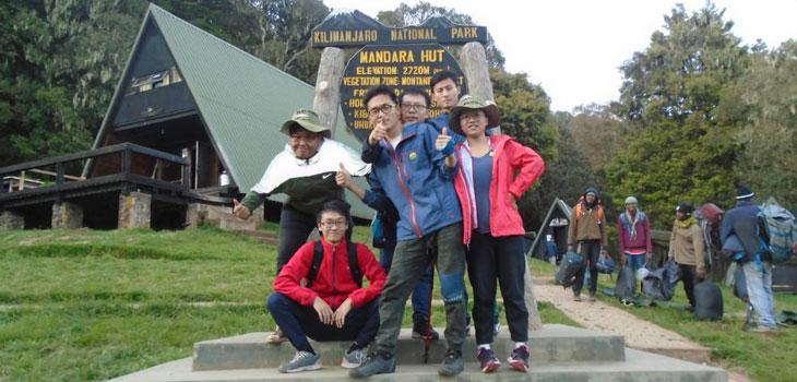 5 Days Kilimanjaro marangu