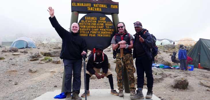 7 days Kilimanjaro Umbwe