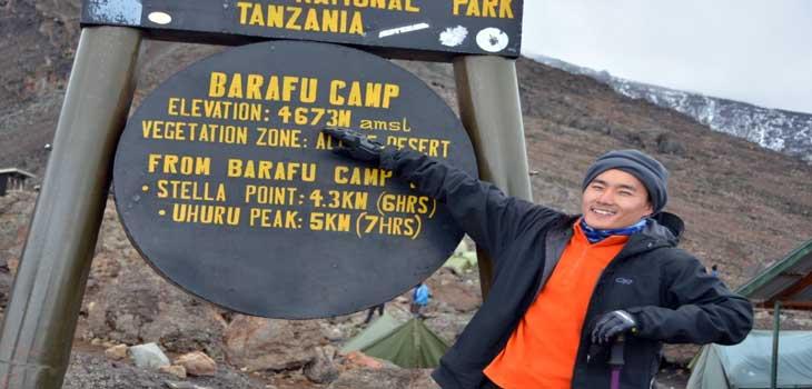8 Days Kilimanjaro Umbwe