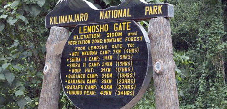 9 Days Kilimanjaro Lemosho